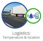 Logistics Temperature and location